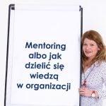 Mentoring albojak dzielić się wiedzą worganizacji